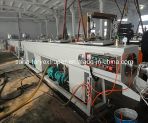 75mm-160mm Plastic PVC Pipe/Tube Production Extrusion Line pictures & photos