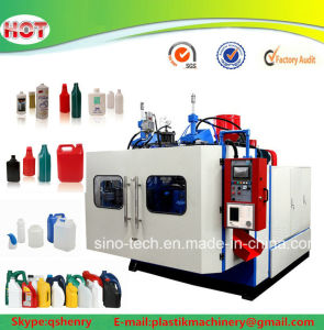 Automatic HDPE PP Plastic Bottle Blow Molding Machine Extrusion Blowing Moulding Machine pictures & photos