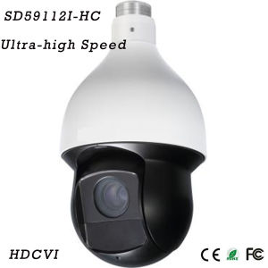 1 Megapixel 12X Ultra-High Speed IR Hdcvi PTZ Dome Camera{SD59112I-Hc} pictures & photos