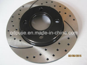 Cross-Drilled and Slotted Brake Disc pictures & photos