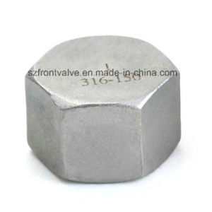 Investment Casting Screwed Stainless Steel Hexagon Cap pictures & photos
