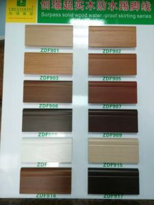 9cm PVC Skiritng of Flooring Accessories for Wood Flooring pictures & photos