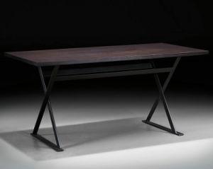 Vintage Study Desk with Iron Coating Leg (FH-6105)