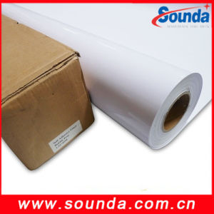 Back Self Adhesive Vinyl for Vehicle Decoration Printing pictures & photos