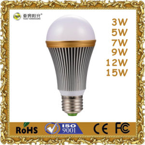 5W Aluminum LED Lighting with E27 B22