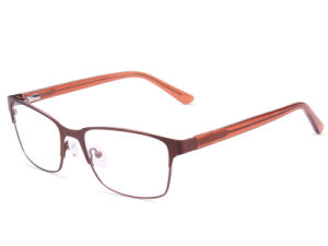 Flexible Super Light Weight Stainless Steel Metal Optical Frame Eyeglass Eyewear (Jc8033)