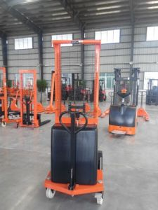 Semi Electric Pallet Stacker pictures & photos