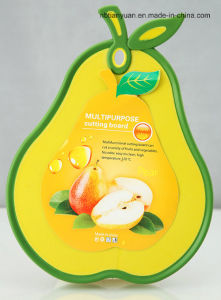 Plastic Cutting Board in Pear Shape pictures & photos
