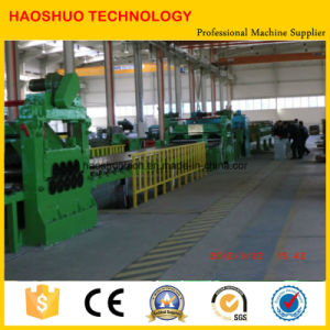 Steel Coil Decoiling Leveling Cutting Line pictures & photos