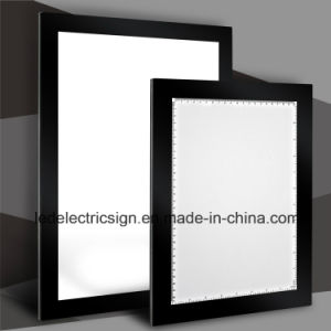 Acrylic Sheet for Magnetic Frame LED Light Box with LED Sign pictures & photos