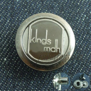 Plating Fashion Metal Snap Button for Coat pictures & photos
