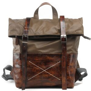 Cow Leather Handbag and Canvas Man Fashion Water Proof Backpack (RS-1008-H) pictures & photos