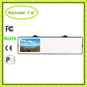 Dual Lens 720p Rearview Mirror Car DVR, in Car with Camera, Roof Mount Car Camera pictures & photos