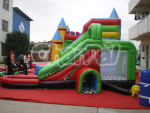 CE Certification PVC Colorful Inflatabale Water Slide Pool Slide Chsl255 pictures & photos
