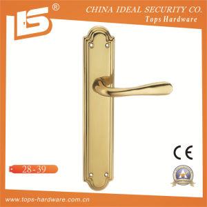 High Quality Brass Door Lock Handle-2839 pictures & photos