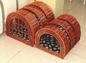 (BC-PK1012) High Quality Handmade Willow Pet House pictures & photos
