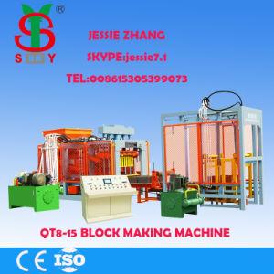 Qt8-15 Block Forming Machine Concrete Block Machine pictures & photos