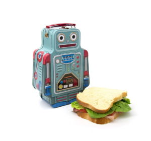 Robot Shape Tin Lunch Box pictures & photos