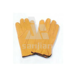 Grain Leather Grad a/Ab/Bc Working Safety Glove pictures & photos
