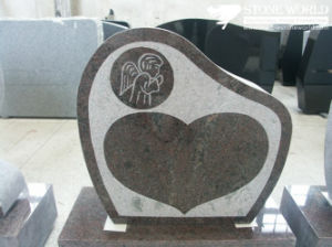 Granite Stone Monument / Tombstone with Custom Design - Tt17 pictures & photos