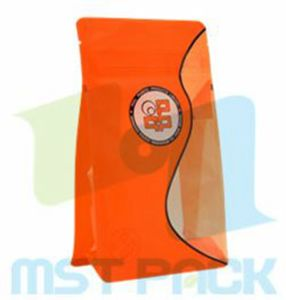 Box Pouch; Food Package Flat Bottom Gusseted Bag pictures & photos