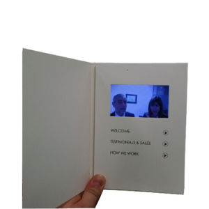 Video Greeting Card with Custom Artwork and Video pictures & photos