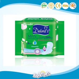 China Wholesale Winged Sanitary Pad Sanitary Napkin pictures & photos