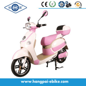 48V 350W Pedal Electric Bike Electric Scooter Pink (HP-XGW)