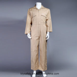100% Polyester Cheap Dubai High Quality Safety Workwear Coverall (BLY1012)
