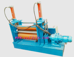 Two Rubber Rollers Plate Rolling Machine for Small Diameter Long Tubiform Steel pictures & photos