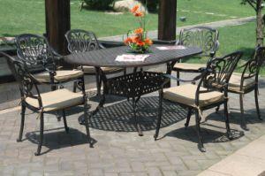 Hot Sale 7PC Dining Sets Cast Aluminum Furniture for Garden pictures & photos