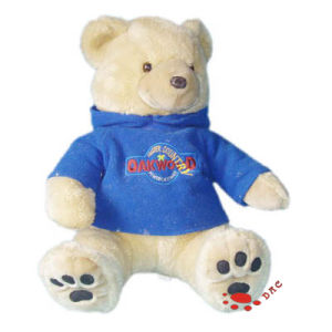 Plush White T-Shirt Bear Toy pictures & photos