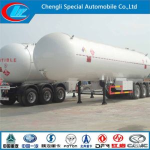 Asme Tri-Axle LPG Tanker Trailer, Chinese Manufacturer 3 Axle LPG Tanker Trailer, 58600L Used LPG Tanker Semi Trailer pictures & photos
