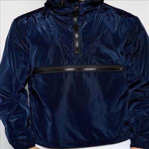 2016 Men′s Overhead Hooded Jacket in Navy Windbreaker pictures & photos