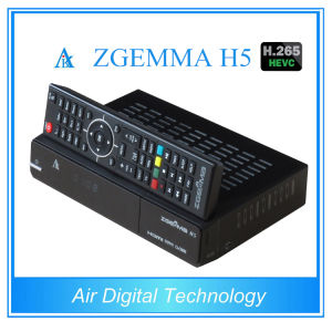 Broadcasting Equipment Real H. 265 TV Decoder DVB S2 DVB T2 DVB C Zgemma H5 pictures & photos