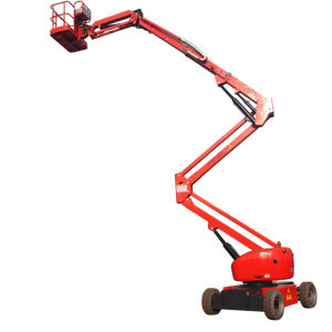 Niuli Self-Propelled Articulating Electric Boom Lift pictures & photos