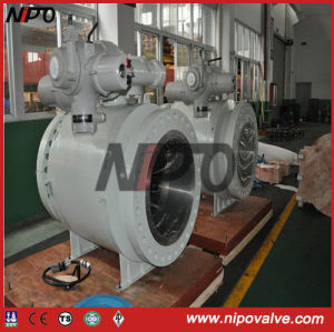API 6D Forged Steel Trunnion Ball Valve (Q47F) pictures & photos