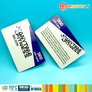 Custom PVC smart RFID 13.56MHz MIFARE Plus SE 1K Card pictures & photos