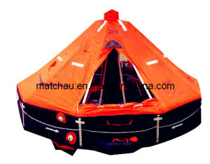 Davit Launched Inflatable Solas Life Raft pictures & photos