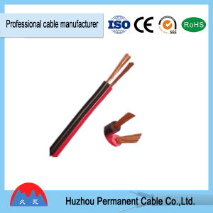 Black and Red PVC Insulation Parallel Speaker Cable CCA 2*0.5mm2 pictures & photos