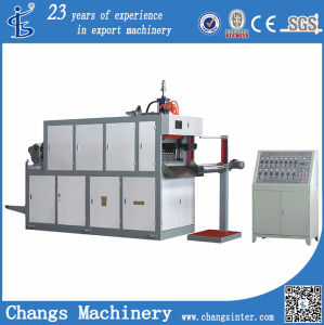 Sjd-680 Automatic Plastic Thermal Forming Machine (Plastic cup making machine) pictures & photos