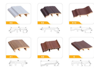 PVC Floor Skirting of Difierent Shapes pictures & photos