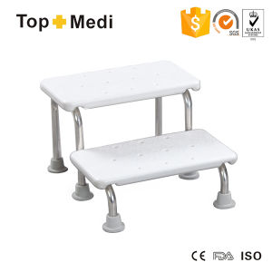 Topmedi Easy Storage Portable Toilet Steel Low Shower Chair pictures & photos