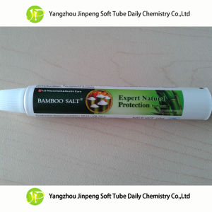 Aluminum&Plastic Laminated Tube Bamboo Salt Toothpaste Tubes Disposable Tubes pictures & photos