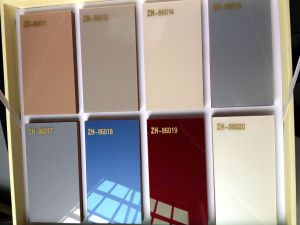 Solid Color Demet Acrylic MDF for Kitchen Cabinet Door (ZH-8603) pictures & photos