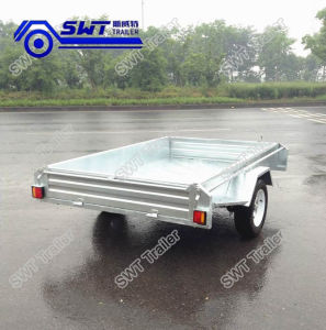 Fully Welded 8*5 Light Duty Box Trailer (SWT-BT85-L) pictures & photos