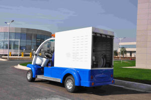 Electric Liquid Garbage Collection Truck pictures & photos