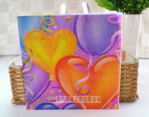 Valentine′s Printed Napkin