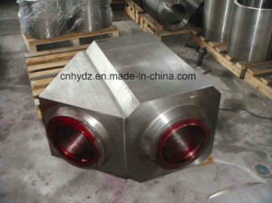 Hot Forged Lateral Tee Valve of Material A105 pictures & photos