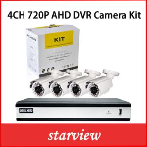 4CH Security Digital Camera System Ahd DVR Recorder Kits with 4 CCTV Cameras pictures & photos